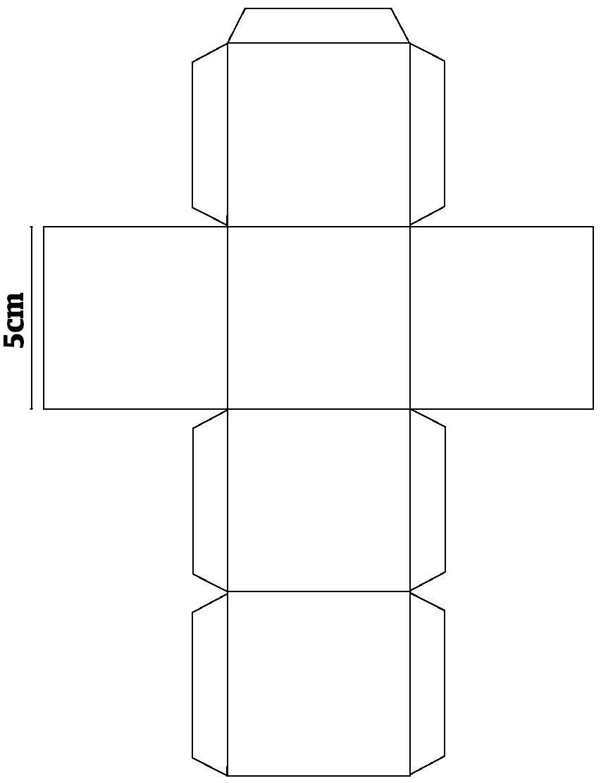 Как сделать кубы из картона