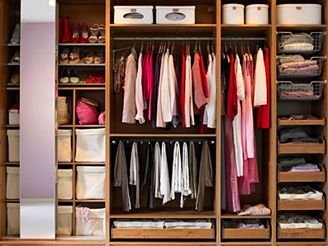 Всё о мебели шкаф купе внутри